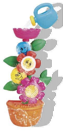 Květina do vany s konvičkou baby