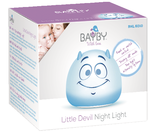 Dětské noční světlo čertík BNL 5010