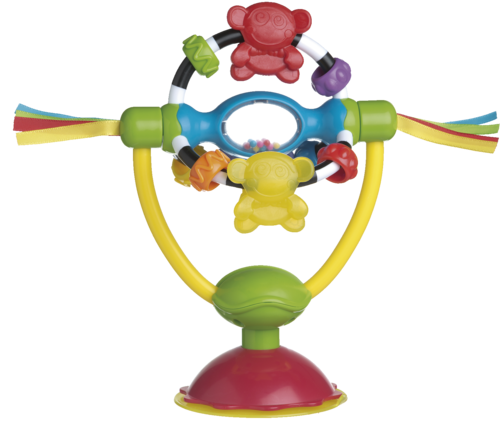 Playgro Otočná hračka s přísavkou