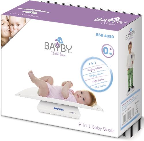 Dětská váha 2v1 BSB 4050